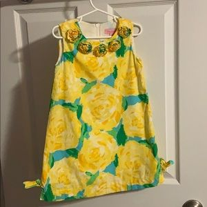 Lilly Pulitzer rosette dress